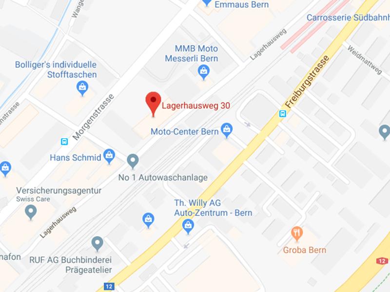 Standort der Medekri AG